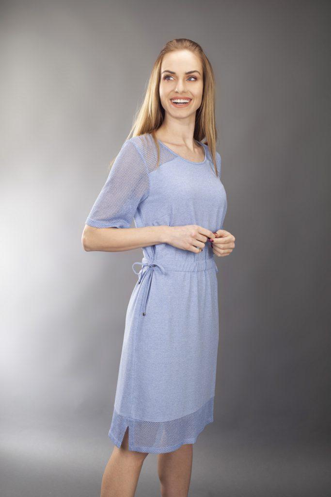 suknia casualowa.