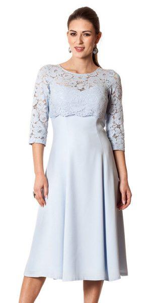 suknia wizytowa.